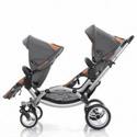 Leebruss Offers A Sleek Double Stroller